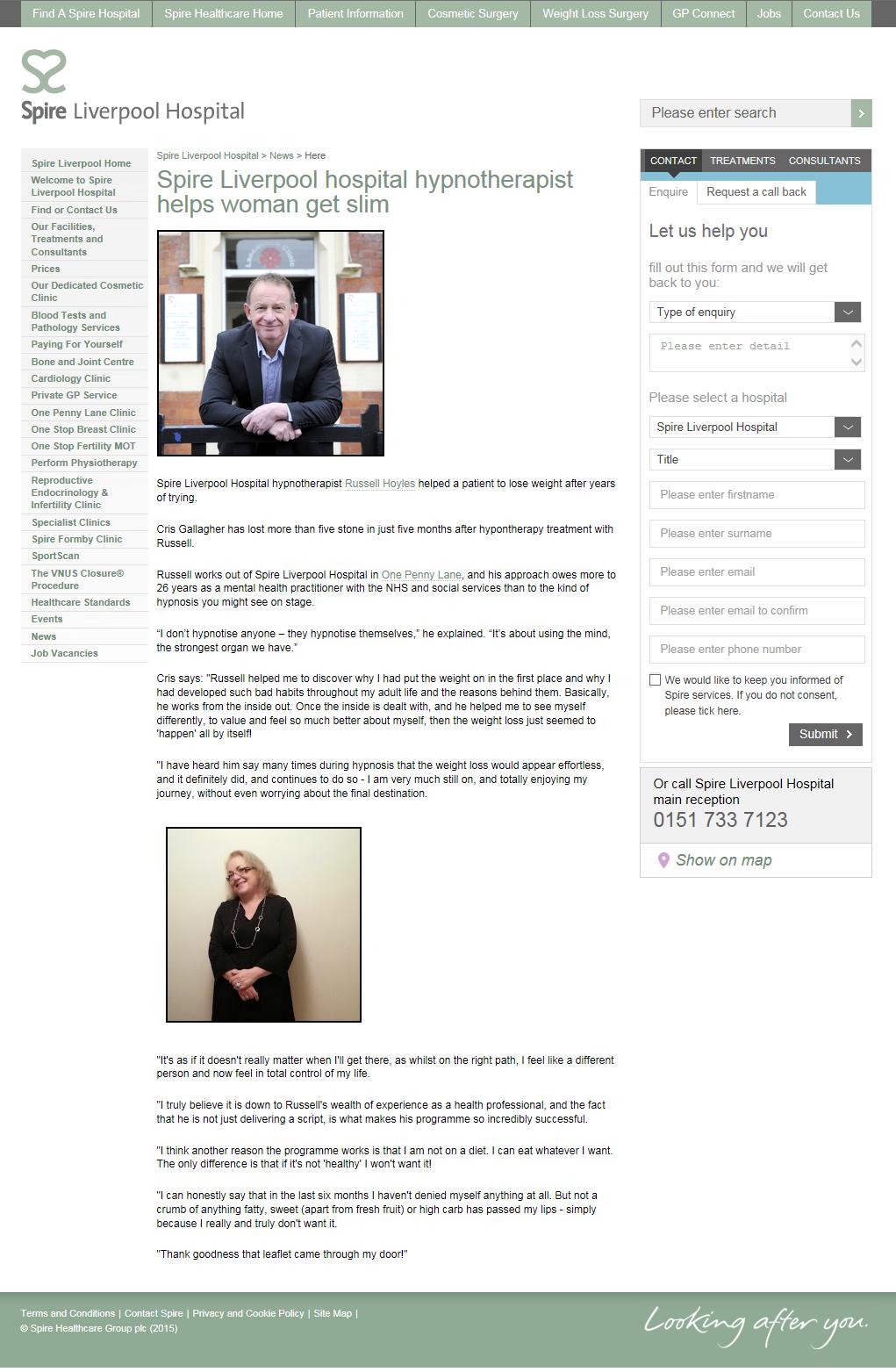 Russell Hoyles in the Media - BBC, Liverpool Echo, Radio City